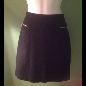 Black mini skirt women's 4 Lauren Ralph Lauren
